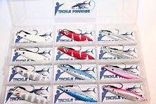 12x 80g Knife Metal Jigs Speed Kingfish Jig Jigging Lures Lure Glow Kings Barra
