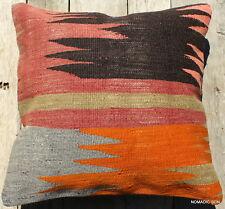 (40*40cm, 16inch) Boho style vintage kilim cushion cover tribal wild