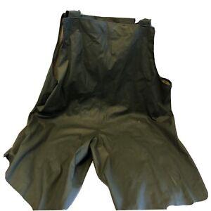 Cabelas XL Chest Bib PVC Pants Fly Fishing Trout Lake Duck Hunting Adjustable