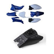 YAMAHA TTR110 TTR 110 PLASTICS FENDER KIT BLUE Gas FUEL TANK FOR PIT DIRT BIKE