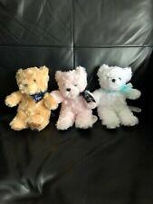 Amuse lovely rose bear plush mini small teddy ball cute kawaii set toreba japan