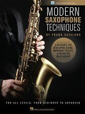 Catalano Modern Saxophone Techniques Learn to Play SAX Music Book Online Video