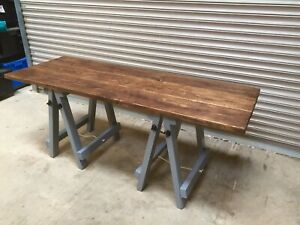 Trestle Legs In Kitchen Dining Tables