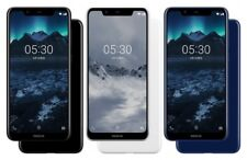 "Nokia X5 Dual Sim 5.86"" 32GB 64GB 13MP Octa-core Face ID Android Phone By FedEx"