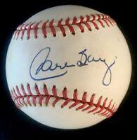 Carlos Baerga Cleveland Indians Autographed Signed Baseball BAS COA