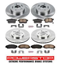 Brake Pad & Rotor/Disc Kit Front & Rear for ACURA TSX HONDA Accord