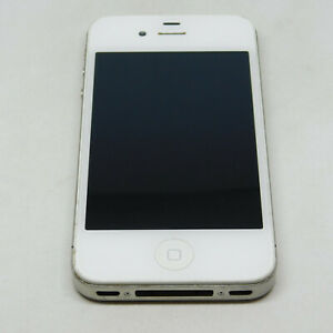 Apple iPhone 4 A1349 8GB Untested For Parts or Repairs Only
