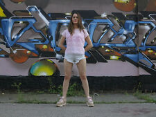 Boogie FURTHER WEST Jeans Shorts Fransen high waist 90er TRUE VINTAGE 90s