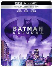 Batman Returns (4K Ultra HD + Blu-ray Steelbook) Michael Keaton, Danny DeVito