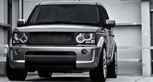 Land Rover LR4 Discovery LR 4 body kit 2009-2013 frp front+rear bumper trim