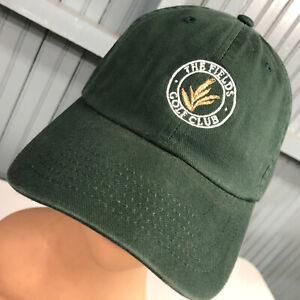 The Fields Golf Club Georgia Strapback Baseball Cap Hat