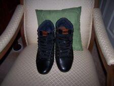 Aldo Men's Stylish Hi Top Boots for Casual Wear Black