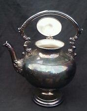 Antique Crosby silverplate Silver on Copper coffee pot
