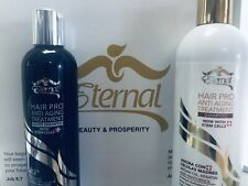 Eternal Silver Shampoo and Hair Pro Aging Shampoo with Stem Cells