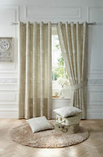 Curtina Polycotton Eyelet Top Curtains & Pelmets