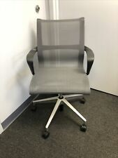 Herman Miller Setu Grey Office Desk Mesh Chair 2017
