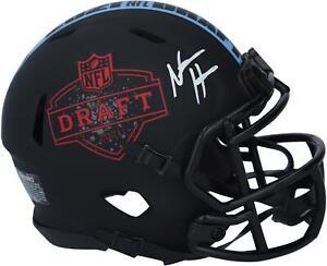 Autographed Najee Harris Raiders Mini Helmet Fanatics Authentic COA