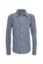 """Schönes traditionelles Trachtenhemd """"Exklusiv"""" von Trachtenkini (blau)"""