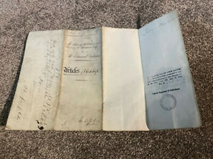 Articles of Clerkship 1902. Holmes to Dickson