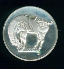 Grande médaille argent  cheval chinois dynastie t'ang 618-906