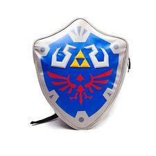 Official Legend of Zelda Shield Design Backpack Rucksack - School Bag Nintendo