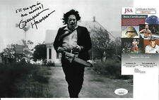 Gunnar Hansen Signed 8x10 Photo Autographed, Texas Chainsaw Massacre, JSA COA