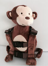 Safety Harness Strap Baby Toddler Walking Backpack Reins Bag Monkey