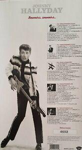 Johnny Hallyday souvenirs souvenirs 5CD coffret Edition Limitée 4602 Live vers