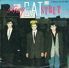 "7"" Stray Cats – Stray Cat Strut // Germany 1981"