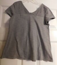 Girls Gray Short Sleeve Old Navy Shirt Size M Or 8 Girl's