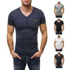 Herren-T-Shirts mit Y-Ausschnitt in Größe 2XL