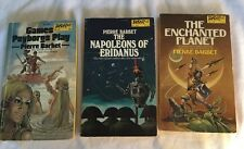 3 SF PBs Pierre Barbet The Enchanted Planet Games Psyborgs Play Napoleons DAW