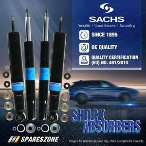 Front + Rear Sachs Shock Absorbers for Audi Cabriolet 8G7 B4 Coupe 10/93-11/99