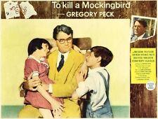 To Kill A Mockingbird great lobby to 8x10 still Gregory Peck - (lc022)