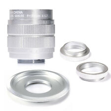 Fujian CCTV 35mm f1.7 Lens C Mount For Sony NEX-5 NEX-3 NEX-7&Adapter bundle SIL