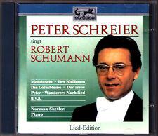 Peter SCHREIER: SCHUMANN Liederkreis Op.39 Widmung Sehnsucht Der arme Peter CD