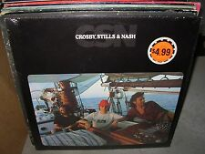 CROSBY, STILLS & NASH csn & wind on water & whistling down ( rock ) - 3 lp lot -