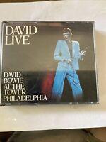 David Live by David Bowie (CD, Nov-2005, 2 Discs, Emi)