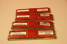4GB MEMORY (4 X 1GB) Hynix 2Rx8 PC2-5300F-555-11,  HYMP512F72CP8D2  AB-C RAM