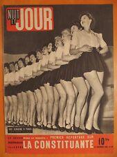 NUIT ET JOUR 48 du 22/11/1945-Une semaine à Paris- Reportage sur la Constituante
