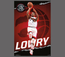 Rare KYLE LOWRY Toronto Raptors NBA Superstar Action Official Wall POSTER