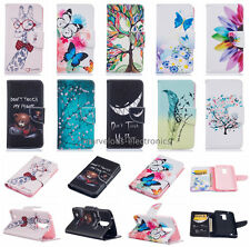 For LG K7 K8 K10/ Moto G4+ Patterned magenetic wallet card phone case flip cover
