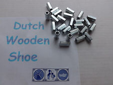 THREADED ROD HEX COUPLING EXTENSION NUTS 1/4-20  Qty 25