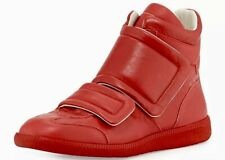 Maison Margiela⚡️Future high top clinic two strap red sneakers size 41EU/8US