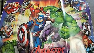 Avengers Heroes Wrapping Wrap Paper Party Gift Decoration