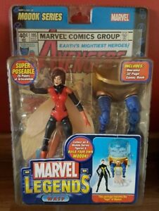 """Marvel Legends WASP Red costume variant 6"""" toy Chase figure VERY RARE"""