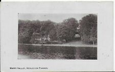EARLY LOVELY 1960'S POSTCARD,HAPPY VALLEY, HENLEY ON THAMES,OXFORDSHIRE