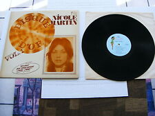 """Nicole Martin """"Disque D'or Volume 1. LP Import From Canada In V/G+. On Campus."""