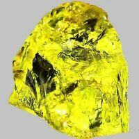 LEMON QUARTZ ROUGH FACET GEM YELLOW GEMSTONE AFRICAN GENUINE NATURAL 10 CARAT
