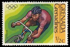 "GRENADA-GRENADINES 189 (SG191) - Montreal Olympics ""Cycling"" (pa85145)"